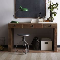 Emmerson Desk made from reclaimed wood from west elm