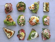 Learn about the Open Sandwich - and how to make them Open Sandwich Recipe, Open Faced Sandwich, Sandwich Recipes, Lunch Recipes, Cooking Recipes, Danish Cuisine, Danish Food, Tee Sandwiches, Charcuterie Recipes