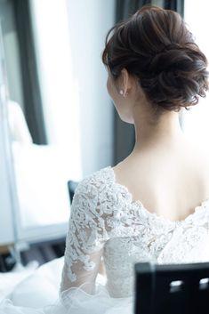 Wedding Hair And Makeup, Bridal Hair, Hair Makeup, Wedding Hairstyles, Dress Up, Wedding Dresses, Hair Styles, Beautiful, Fashion