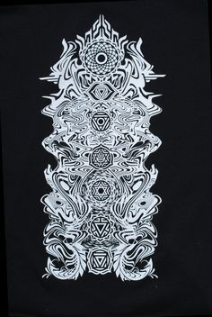 Chakra Totem Sacred Geometry Tshirt