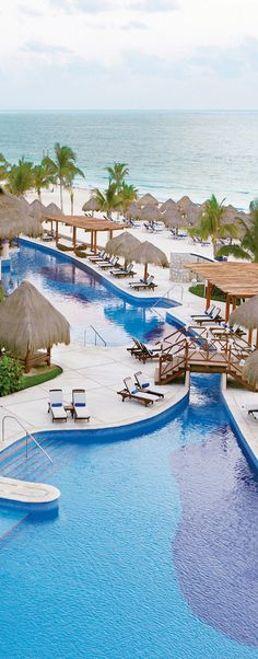 5 yr anniversary trip booked for Excellence Riviera Cancun, Mexico. Vacation Places, Vacation Destinations, Vacation Spots, Places To Travel, Excellence Riviera Cancun, Excellence Resorts, All Inclusive Vacations, Hotels And Resorts, Dream Vacations