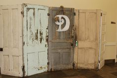 Vintage door decor