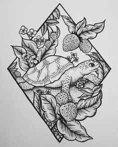 Turtle illustration tattoo design Related posts:A wide variety of small tattoos for women - Page 12 of 20 Armband Tattoo Amazing Tattoo Designs for Women in 2018 Tattoo Design Drawings, Cool Art Drawings, Pencil Art Drawings, Art Drawings Sketches, Tattoo Sketches, Drawing Drawing, Detailed Drawings, Design Tattoos, Tumblr Art Drawings