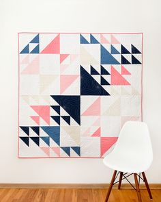 Whirlwind Quilt Pattern Modern Quilt Patterns, Pdf Patterns, Quilting Projects, Quilting Designs, Quilt Design, Half Square Triangle Quilts, Traditional Quilts, Girls Quilts, Pattern Making
