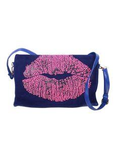 PPB Cobalt Lips Bag - pretaportobello