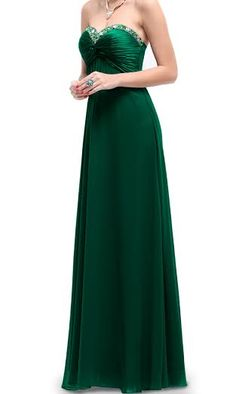 #long #elegant #rhinestone #dress