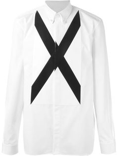 Shop Givenchy cross applique shirt in Tiziana Fausti from the world's best independent boutiques at farfetch.com. Shop 300 boutiques at one address.