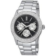 Esprit Ladies Watch Peony Silver Black ES103822009