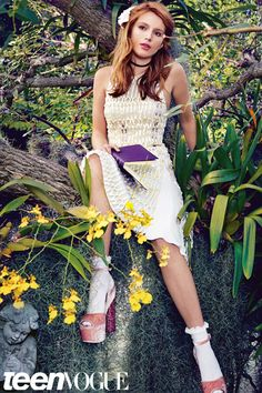 Bella Thorne by Emma Summerton for Teen Vogue April 2015 Celebrity Photography, Fashion Photography, Disney Channel, Bella Thorne And Zendaya, Emma Summerton, Bella Throne, Celebrity Updates, Girls With Red Hair, Hair Girls