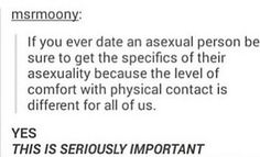 Didnt actually realize how important this is until recently. Hella important!!! Asexuality. Asexual. Lgbtqia+