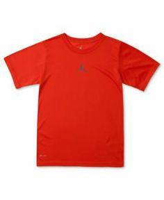 Nike Jordan Kids T-Shirt, Boys Dri-Fit Jumpman Tee Kids Kids'