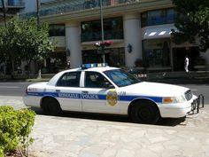 Voiture de police à Honolulu