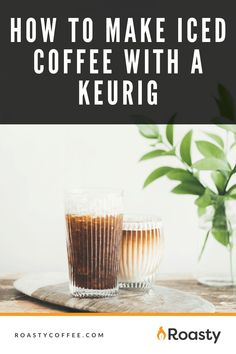 If you're trying to avoid paying money for an iced coffee when you already have a Keurig at home, you've come to the right place! It's 100% possible and surprisingly easy to do! Use our how-to guide to find out tips and tricks we've put together so you can get the most out of your home-brewed iced coffee. #coffeelovers #icedcoffee #roastycoffee #keurigcoffee Thai Iced Coffee, Vietnamese Iced Coffee, Making Cold Brew Coffee, How To Make Ice Coffee, What Is A Frappe, Coffee Course, Coffee Benefits, Coffee Ideas, Coffee Creamer