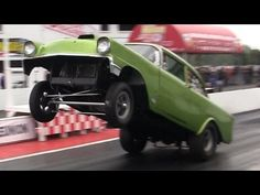 ▶ 2013 Detroit Dragway Reunion Mike Bilina 1956 Chevy Great Lakes Gassers Nostalgia Drag Racing - YouTube