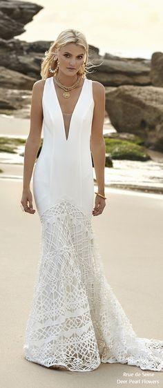 Rue de Seine Moonlight Magic Boho Wedding Dress GIGI_WEBSITE #weddings #dresses #weddingideas #lace