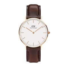 The Classic Bristol (36mm) in Rose Gold by Daniel Wellington