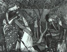 File:Edward Burne-Jones The Knights Farewell.jpg