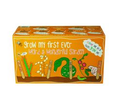 With four fabulous sets of seeds included, they can enjoy growing their very own Tickle Me Plant, Money Plant, Swan Gourd and Cape Sundew in the compost which is included, along with full instructions, plant labels and, as the box itself doubles as a colouring set, colouring pencils too. £13.99 #garden #kids #fun
