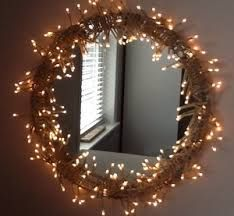 1000 Images About Mirrors And Fairy Lights On Pinterest