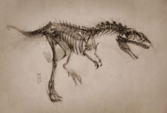2016 Allosaurus by MinohKim.deviantart.com on @DeviantArt