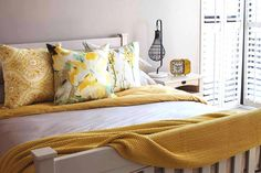 Spring has sprung and we're ready to get your bedroom blooming! With yellow as our feature colour for the season, our new bedding will give your bedroom that lavish sun-kissed look and feel. #Spring2015 #home #decor #luxury #LoadsofLiving