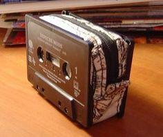 cassette tape into wallet