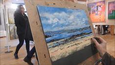 soft pastel landscape demonstration by Nathalie Jaguin