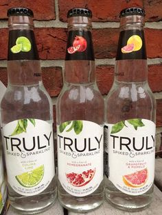 Boston Beer has added they've unveiled Truly Spiked Sparkling water