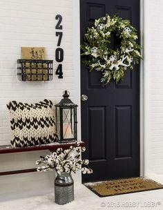 Door Update Ideas / Add Decor Elements / Front Door Decor