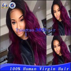 http://www.aliexpress.com/store/product/Beautiful-Ombre-Two-Tone-Color-Purple-Human-Hair-Wig-U-Part-1B-Purple-100-Unprocessed-Brazilian/1113452_2052123176.html
