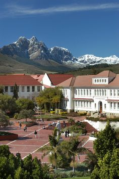 My university campus - Stellenbosch, South Africa