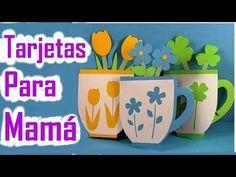 Tarjetas para Regalar el Día de las Madres – Manualidades de Lina - YouTube