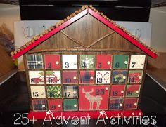 Christmas Advent Calender Activities/Idea