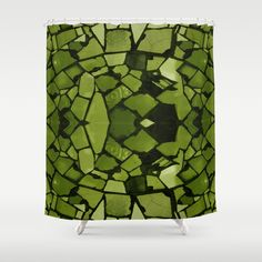 Buy Mosaic - Fern Green Shower Curtain by emmebi. Worldwide shipping available at Society6.com. Just one of millions of high quality products available.