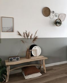 Living room - Look inside at home near me - look inside at home - Decor, Home Office Decor, Home And Living, Half Painted Walls, Home Decor, House Interior, Hall Decor, Room Decor, Home Deco