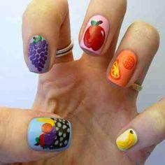 Amazing Stylish Fruit Nail Designs imgba1f87259b81d0d08