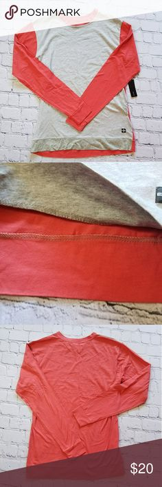 NWT TAVIK Visionaires Mens Long T-shirt Sz Med Nordstrom Rack Brand new w tags Salmon/orange color sleeves & battery front Long Sleeve Super soft material   Mens size medium Tavik Shirts Tees - Long Sleeve