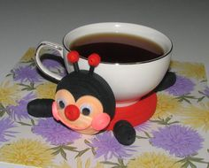 Hey, I found this really awesome Etsy listing at https://www.etsy.com/listing/261342930/coasters-for-drinks-cute-ladybug-stand