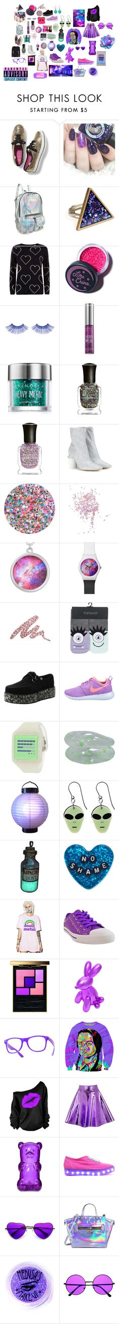 """""""Untitled #548"""" by primawanna ❤ liked on Polyvore featuring Keds, Chinti and Parker, Lime Crime, Urban Decay, Deborah Lippmann, Maison Margiela, Topshop, NIKE, Nooka and Sourpuss"""