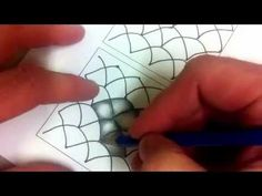 Zentangle Shading - this link leads to several vidio tutorials...