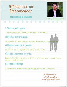 5 Miedos de un Empresario