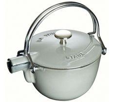 Staub Teapot, graphite cast iron