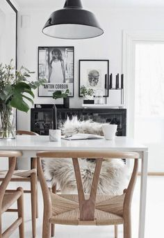 IT'S NOT VERY OFTEN WE PUT BLACK IN OUR HOMES… by bM contributors Lauren and Sienna from Dear September Black is so dark, its a scary colour and as much as it goes 'with everything', most of us save it for our wardrobes. But, this mood board might have you re-thinking our moody colour friend …