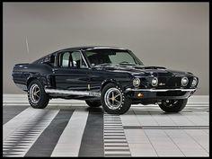 1967  Shelby GT500 Fastback LeMans Stripe Delete, Factory Air
