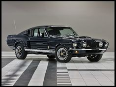 1967  Shelby GT500 Fastback LeMans Stripe Delete, Factory Air