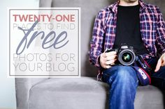 Over 20 different places to find awesome free photos for your blog. Never worry about your post lacking a visual element again!