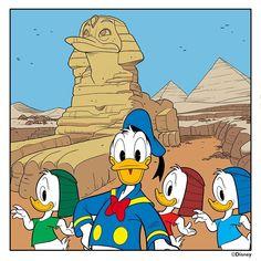 Hey how cool! Walt Disney, Disney Duck, Disney Family, Disney Mickey, Disney Art, Mickey Mouse, Pato Donald Y Daisy, Donald Duck, Disney Best Friends
