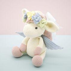 Harriet the Pegasus - Amigurumipatterns.net