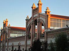 Atardecer en Matadero Madrid.