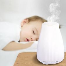 Low Price + FREE SHIPPING - 100ml - BAXIA Essential Oil Mist Diffuser with 8 Color Changing LED Lights  | eBay